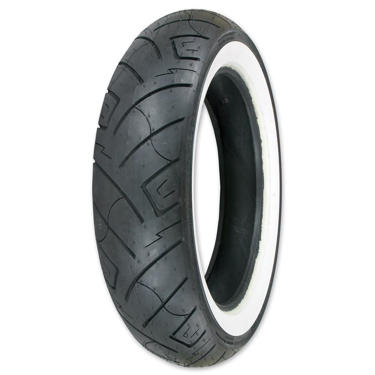 Shinko 777 HD 150/90-15 Wide Whitewall Rear Tire