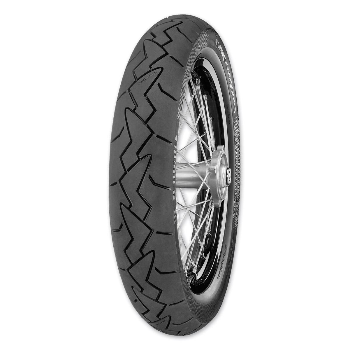 Continental Classic Attack 110/90VR18 Rear Tire