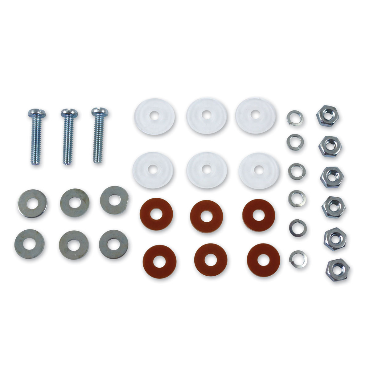 V-Twin Manufacturing Dash Base Wiring Insulator and Bolt Kit