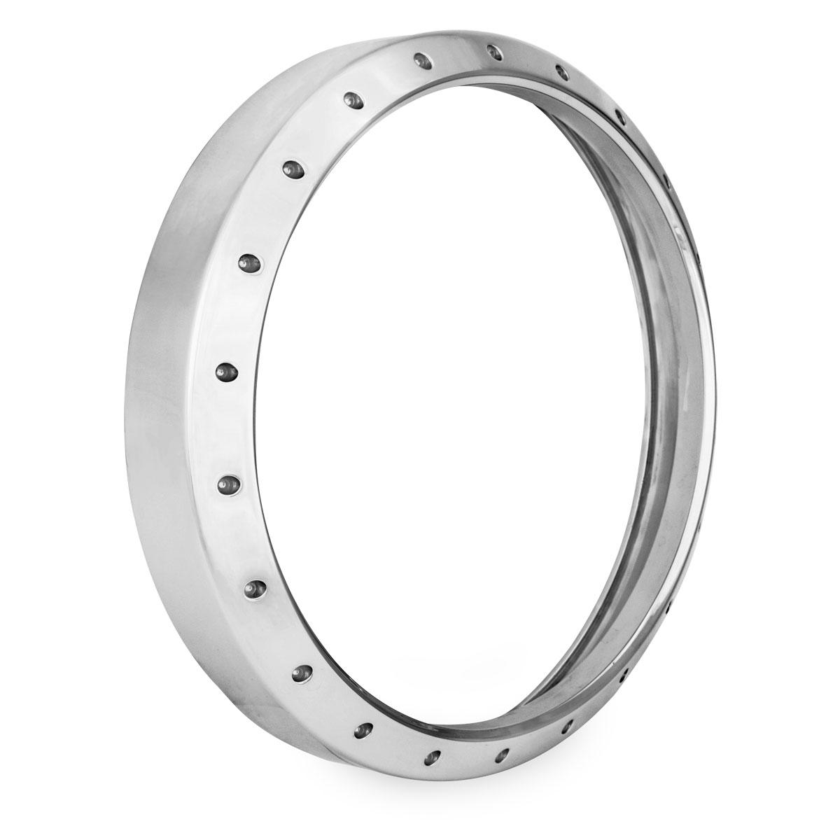 Roland Sands Design Tracker Chrome Headlight Bezel