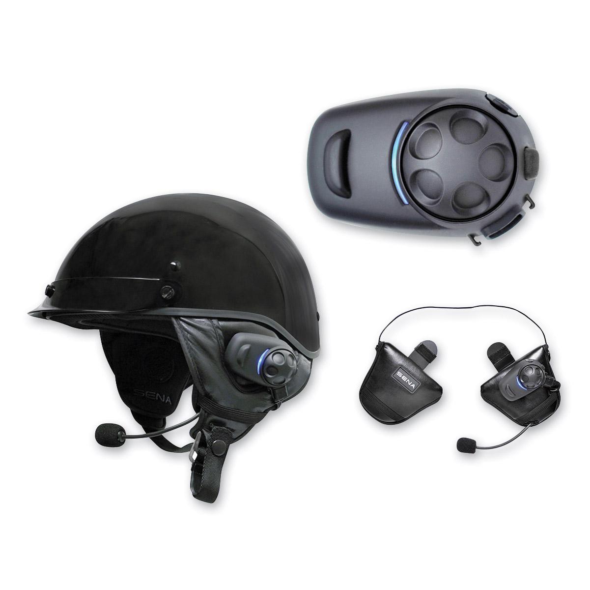 882c53f1965 Sena Technologies SPH10H-FM Dual Pack Bluetooth Headset/Intercom for Half  Helmets