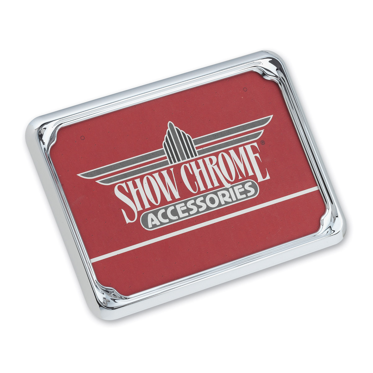 Show Chrome Accessories Euro License Plate Trim