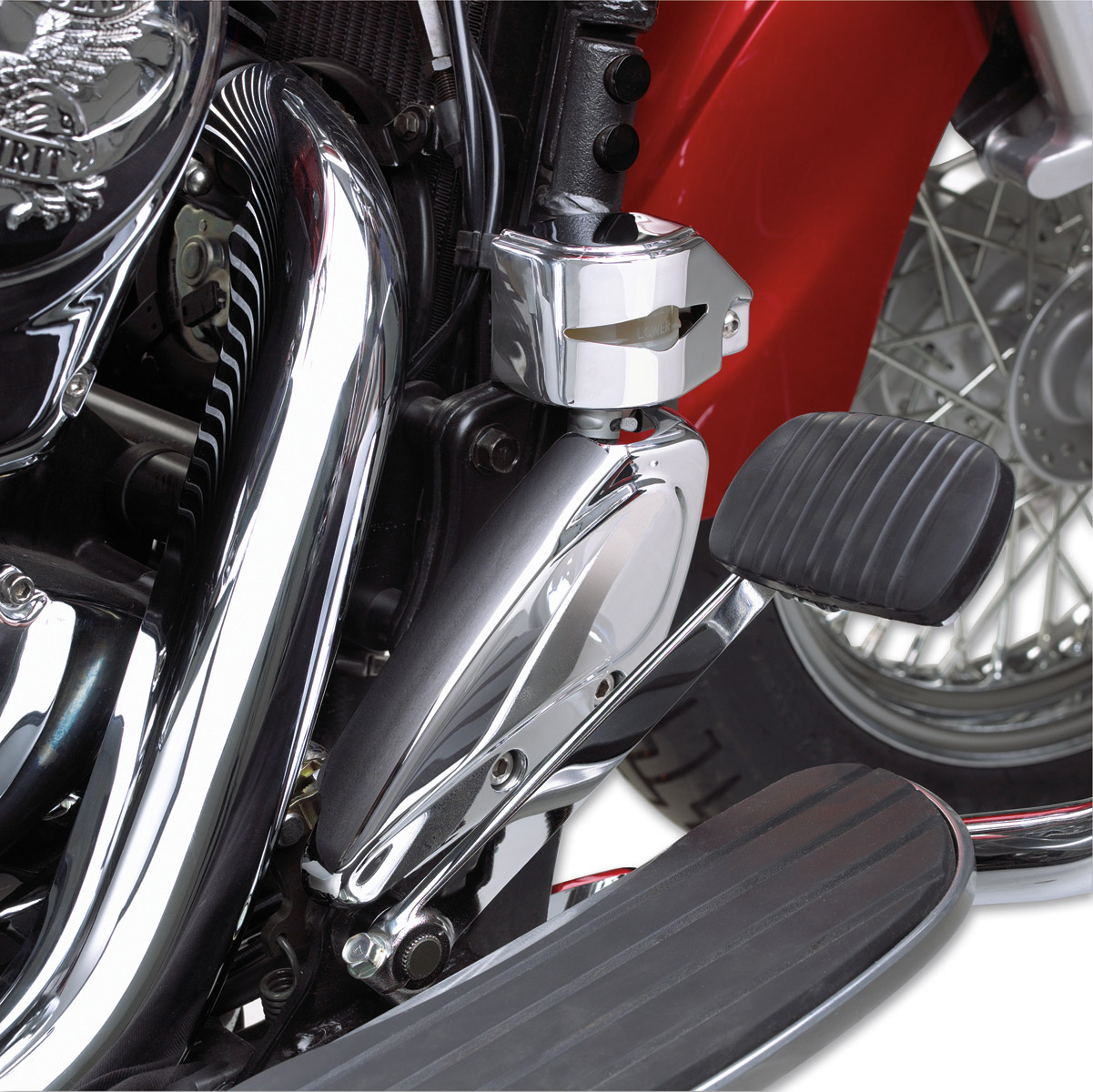 Show Chrome Accessories Rear Master Cylinder Cover