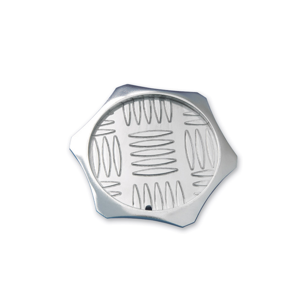 Show Chrome Accessories Aluminum Disc Kickstand Pad
