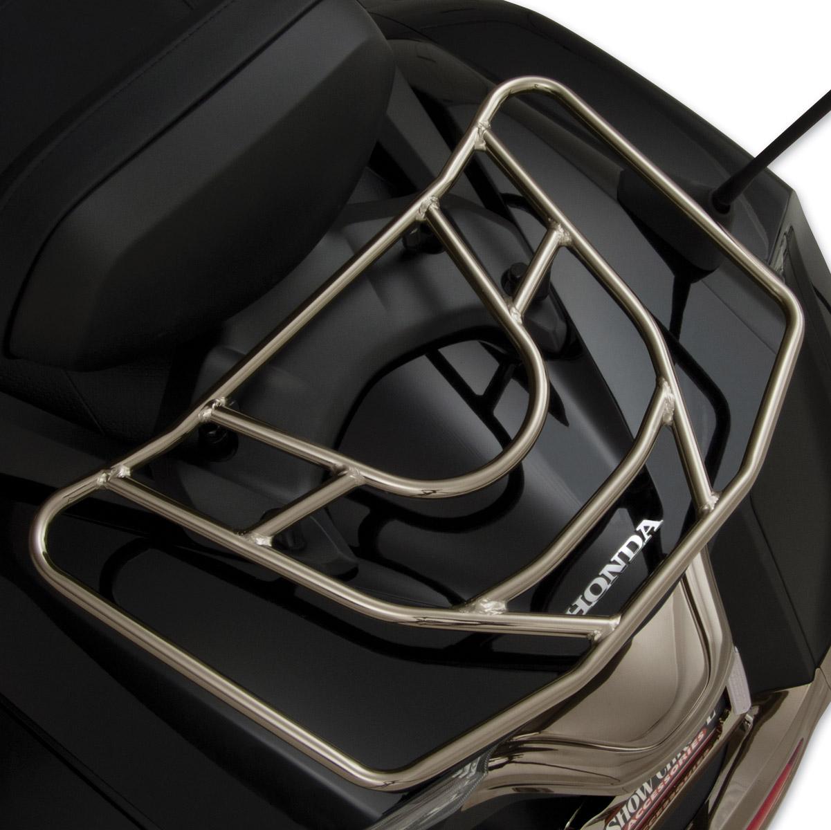 Show Chrome Accessories Smoked Tour Luggage Rack