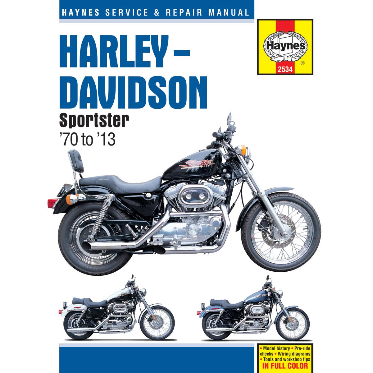 Haynes Sportster Manual - 2534 | JPCycles.com on harley-davidson parts diagram, harley-davidson flh wiring-diagram, harley-davidson electrical diagram, harley-davidson schematics, harley-davidson fxr wiring-diagram, harley-davidson shovelhead wiring-diagram, harley-davidson touring wiring-diagram, harley-davidson 3-pin connector, harley-davidson coil diagram, thermo king parts manual, 2013 harley dyna service manual, harley-davidson motorcycle diagrams,