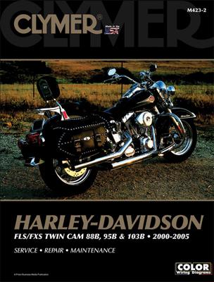Clymer 2000-05 FLS, FXS Twin Cam 88B, 95B & 103B Repair Manual