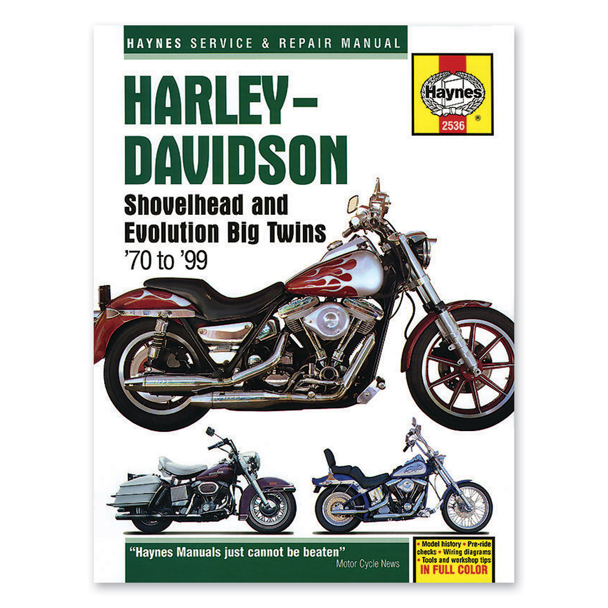 Haynes Shovelhead and Evolution Big Twins Manual