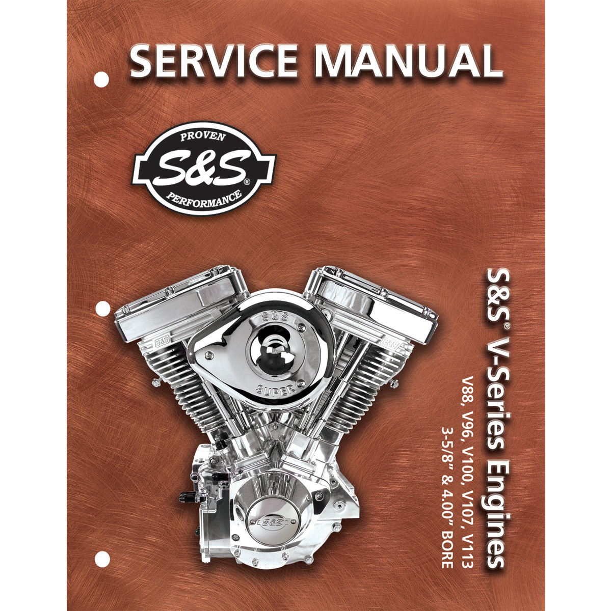 Service Manual for V88,V96,V100,V107,V113 w/ 3-5/8″ and 4″ Bores