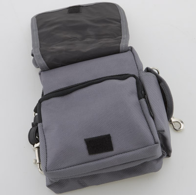 Grey Nylon Belt Bag
