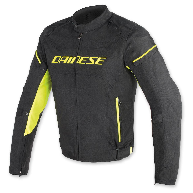 Dainese Men's D-Frame Black/Black/Fluo Yellow Jacket