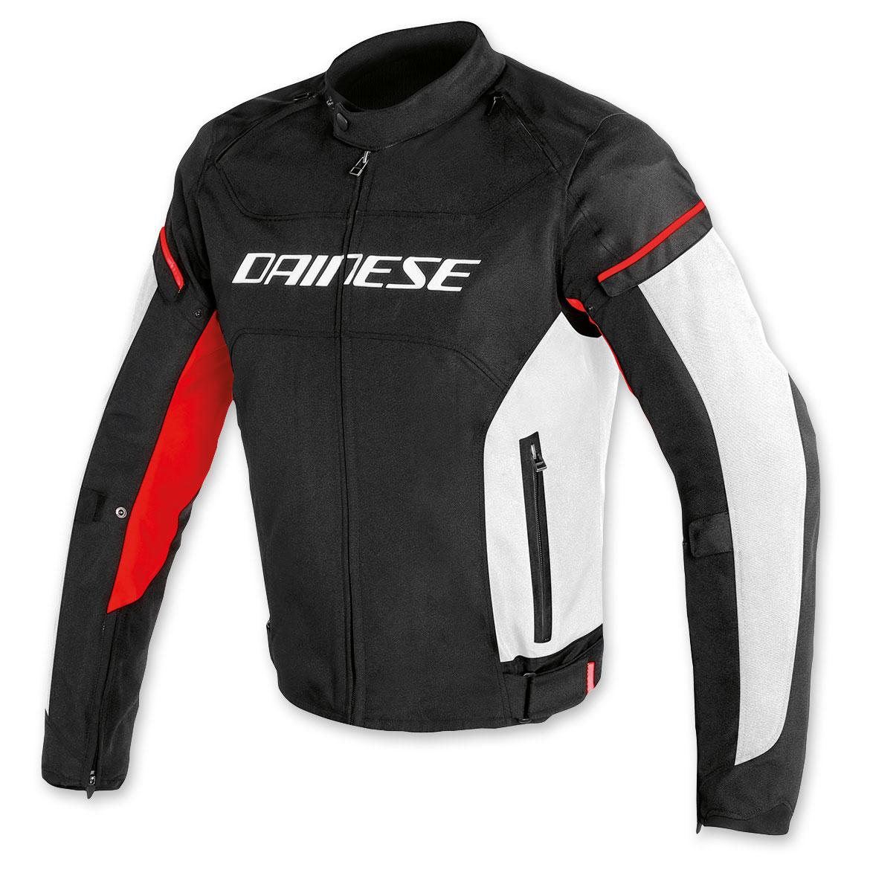 Dainese Men's D-Frame Black/White/Red Jacket