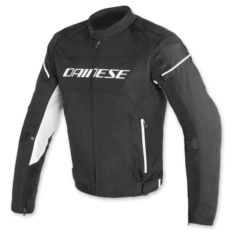 Dainese Men's D-Frame Black/Black/White Jacket