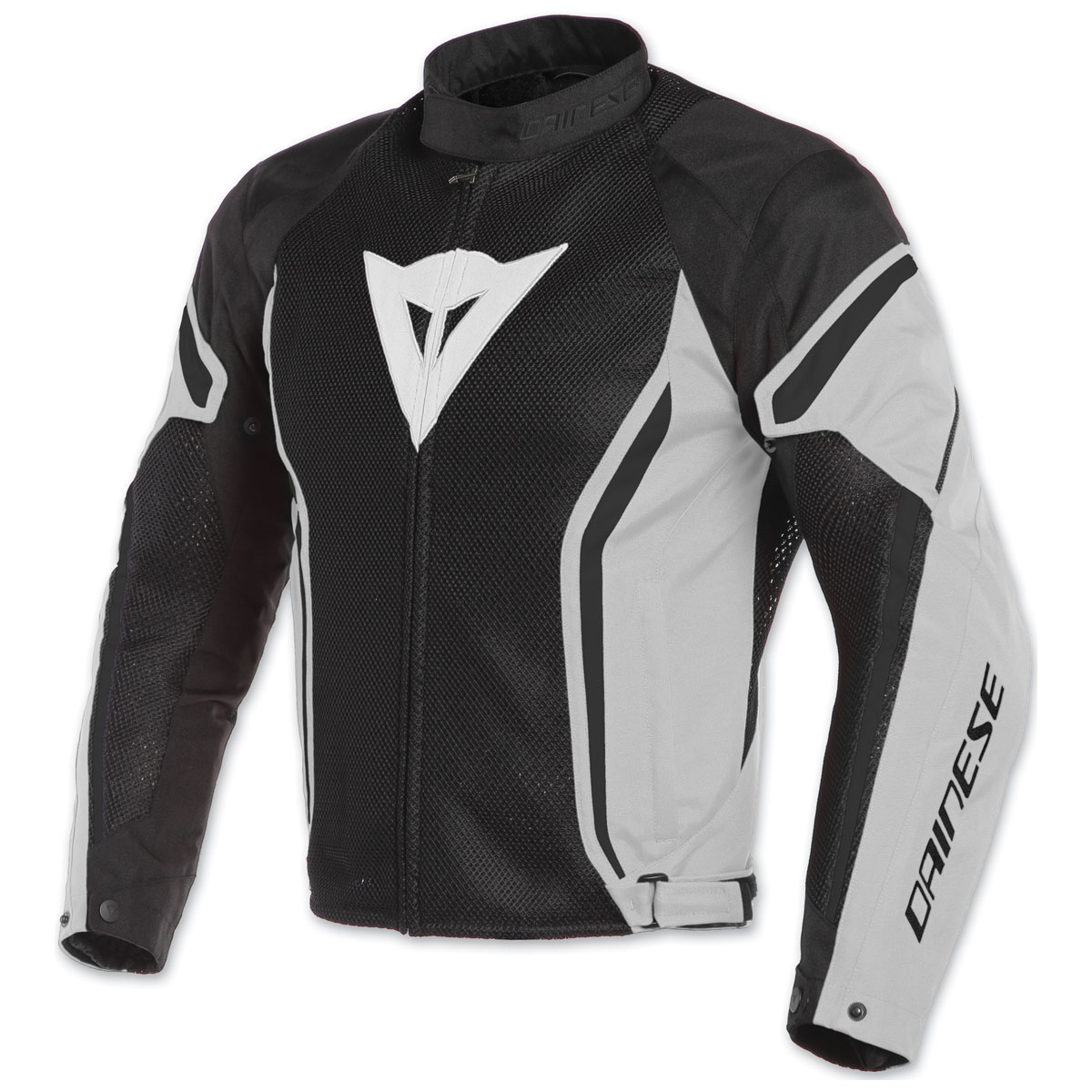 Dainese Men's Air Crono 2 Black/Glacier Gray/Black Textile Jacket