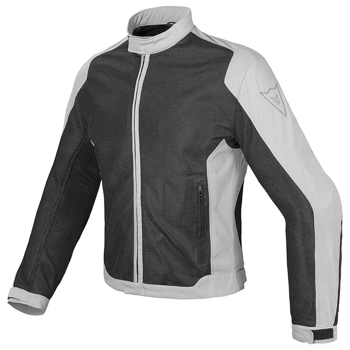 Dainese Men's Air Flux D1 Black/Gray Textile Jacket