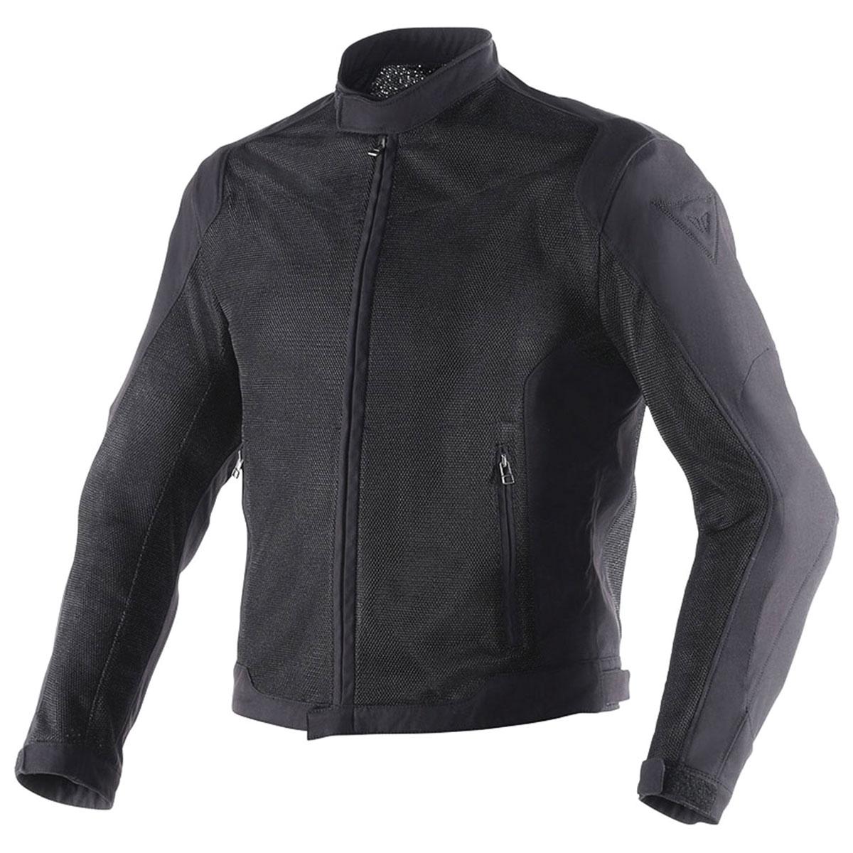 Dainese Men's Black Air Flux D1 BlackTextile Jacket