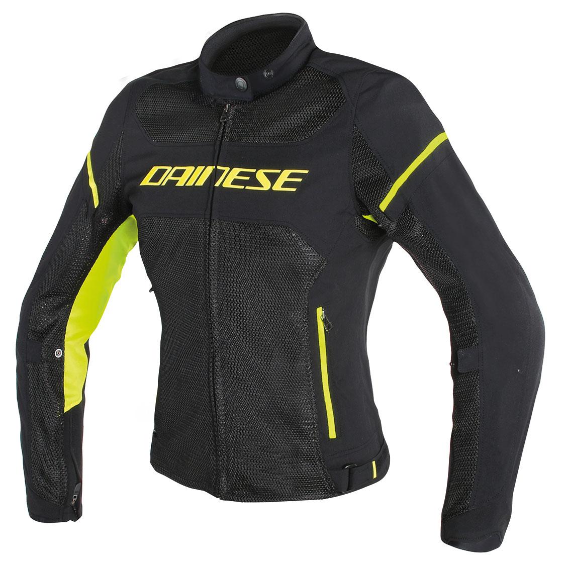 Dainese Women's Air Frame D1 Black/Fluo Yellow Jacket