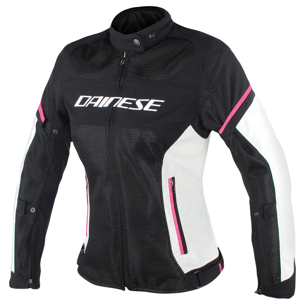 Dainese Women's Air Frame D1 Black/Gray/Fuchsia Jacket