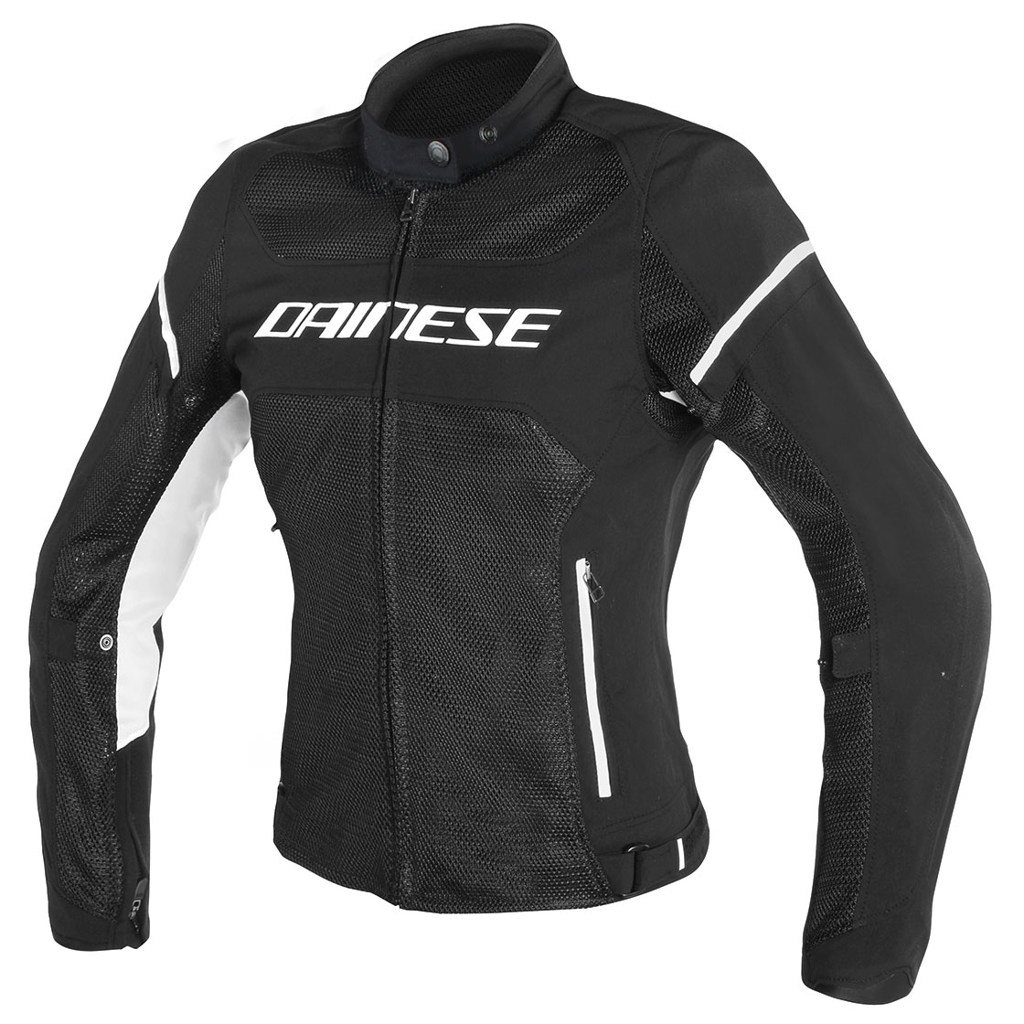 Dainese Women's Air Frame D1 Black/White Jacket