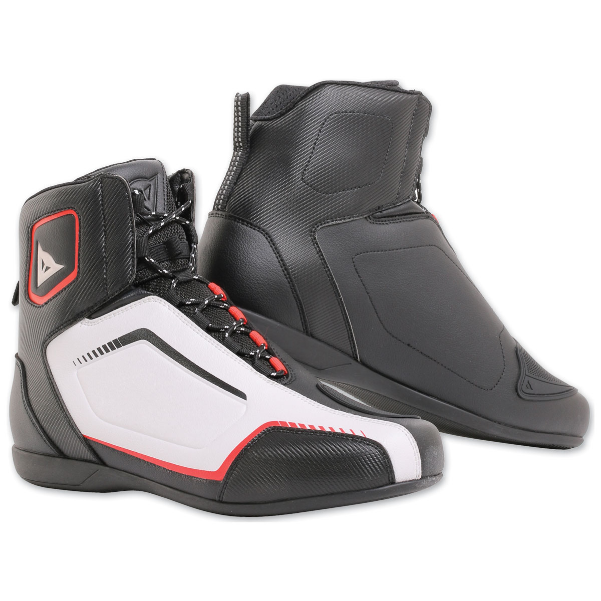 Dainese Men's Raptors Air Black/White/Red-Lava Shoes