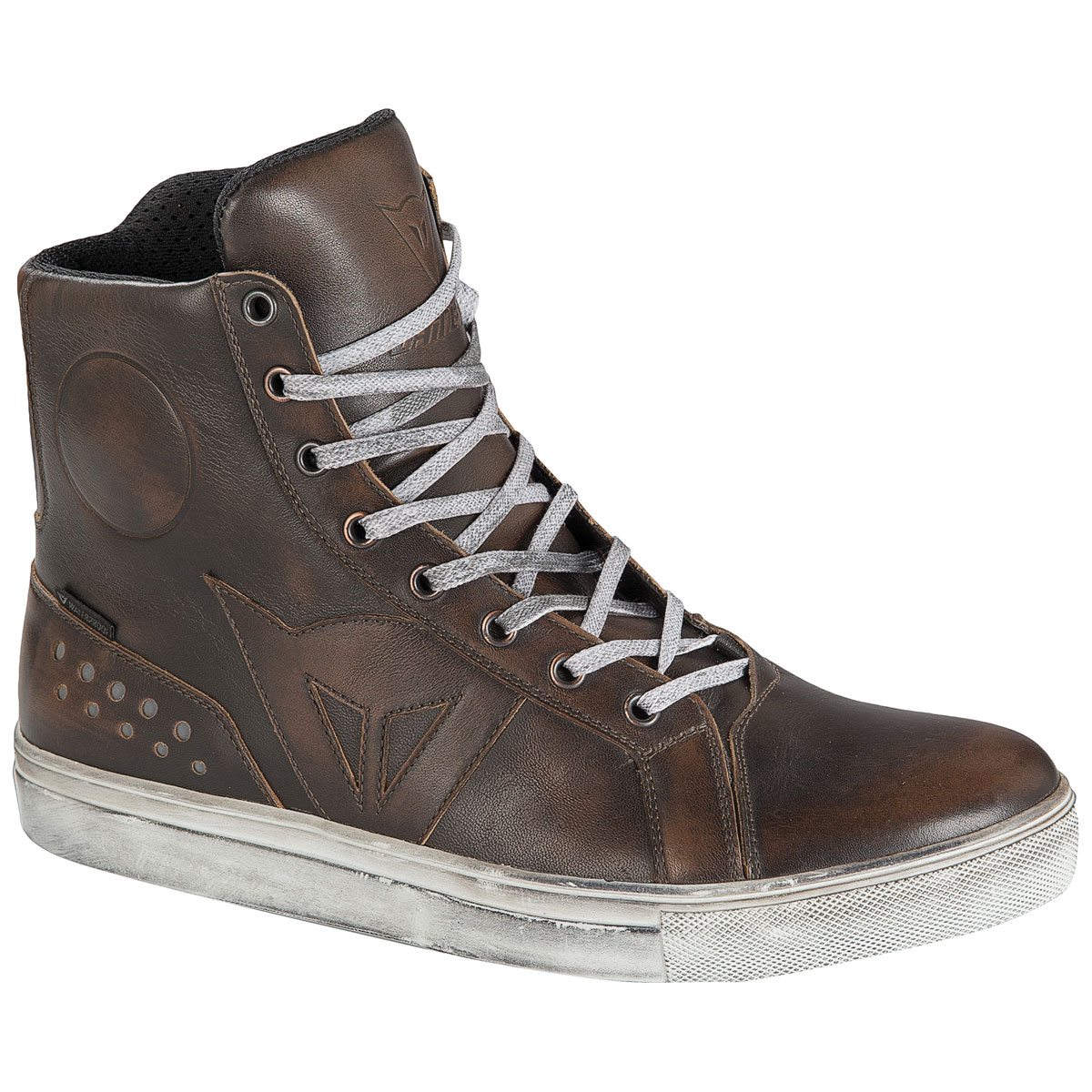 Dainese Men's Street Rocker D-WP Dark Brown Shoes