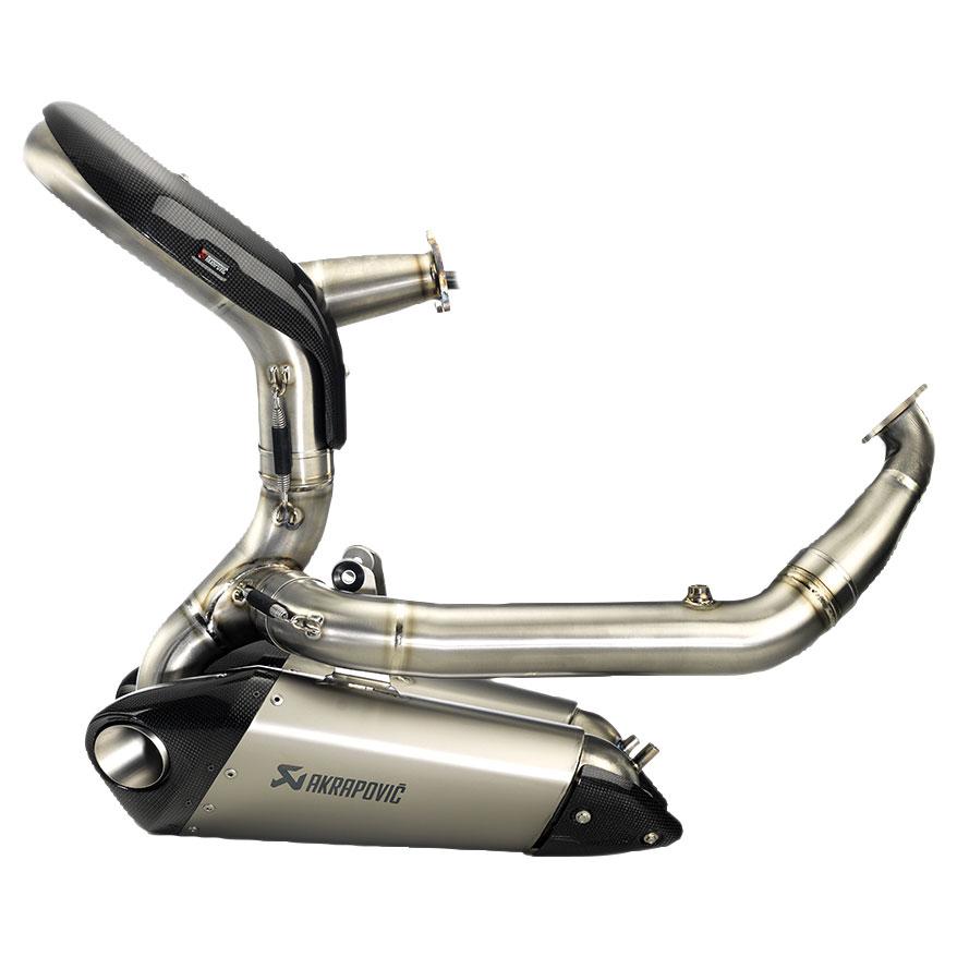 Akrapovic EVO Oval TI/TI  Exhaust System