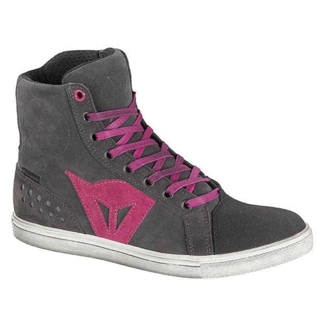 Dainese Women's Street Biker Air Gray/Orchid Shoes