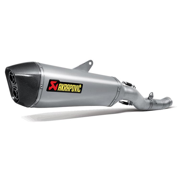 Akrapovic Hex TI/CF Slip-On Exhaust