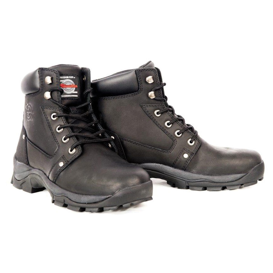 Milwaukee Motorcycle Clothing Co. Men's Cruze Leather Boots