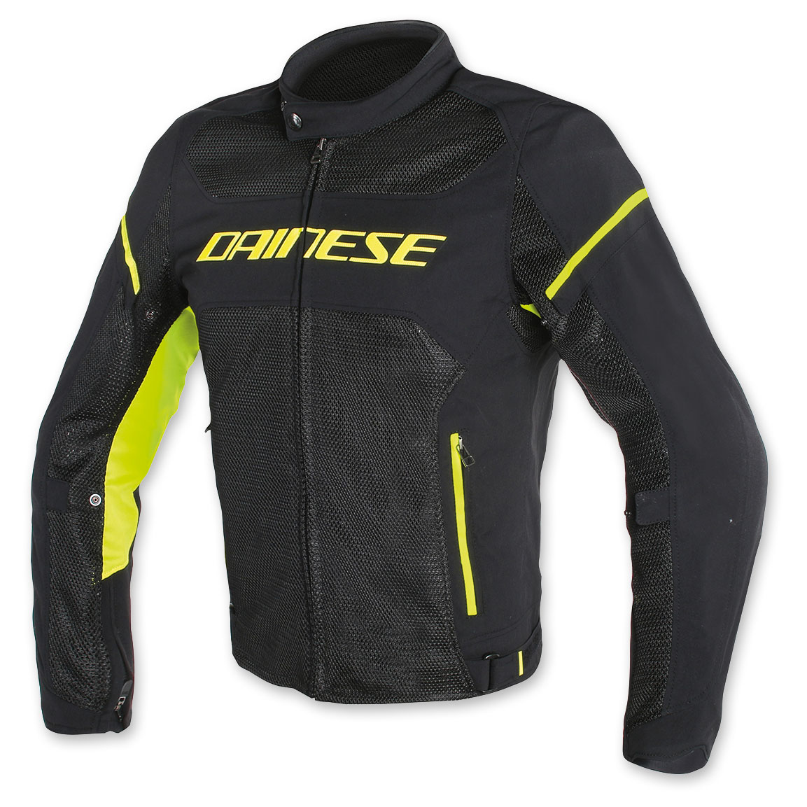 Dainese Men's Air Frame D1 Black/Black/Yellow-Fluo Jacket