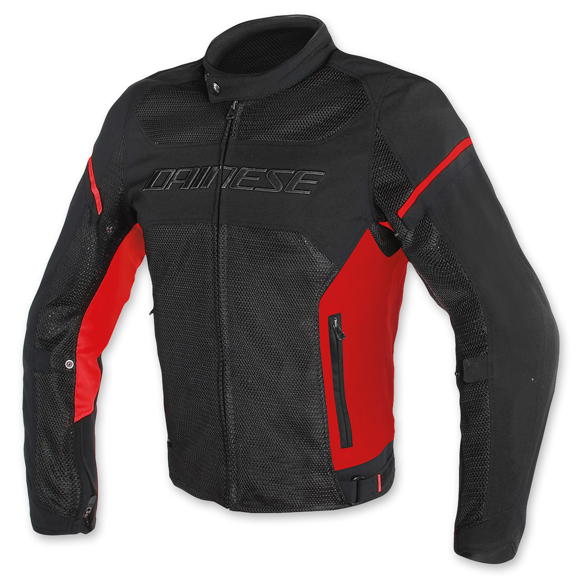Dainese Men's Air Frame D1 Black/Red/Red Jacket