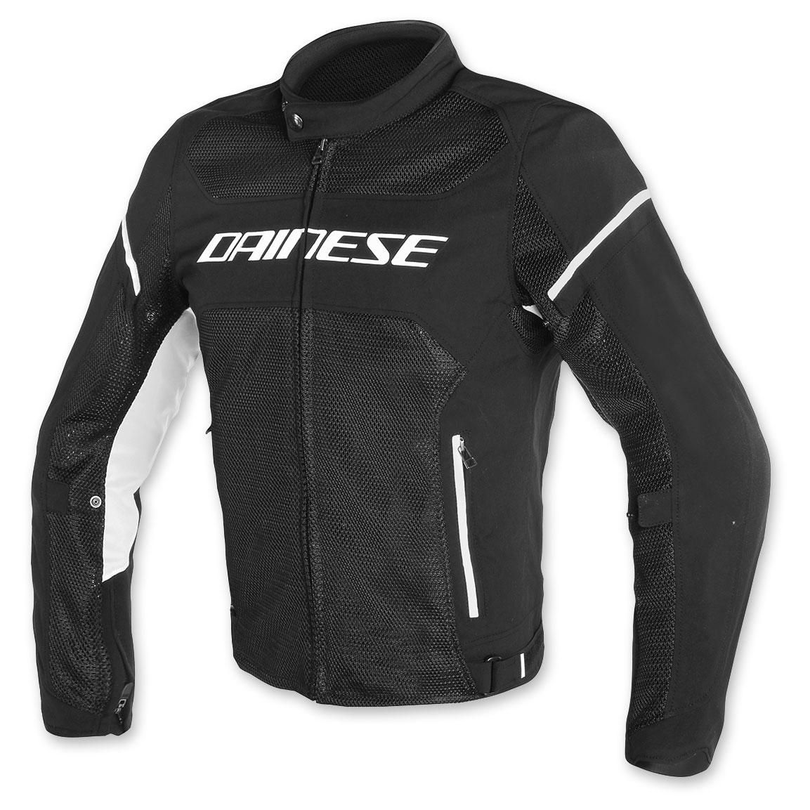 Dainese Men's Air Frame D1 Black/Black/White Jacket