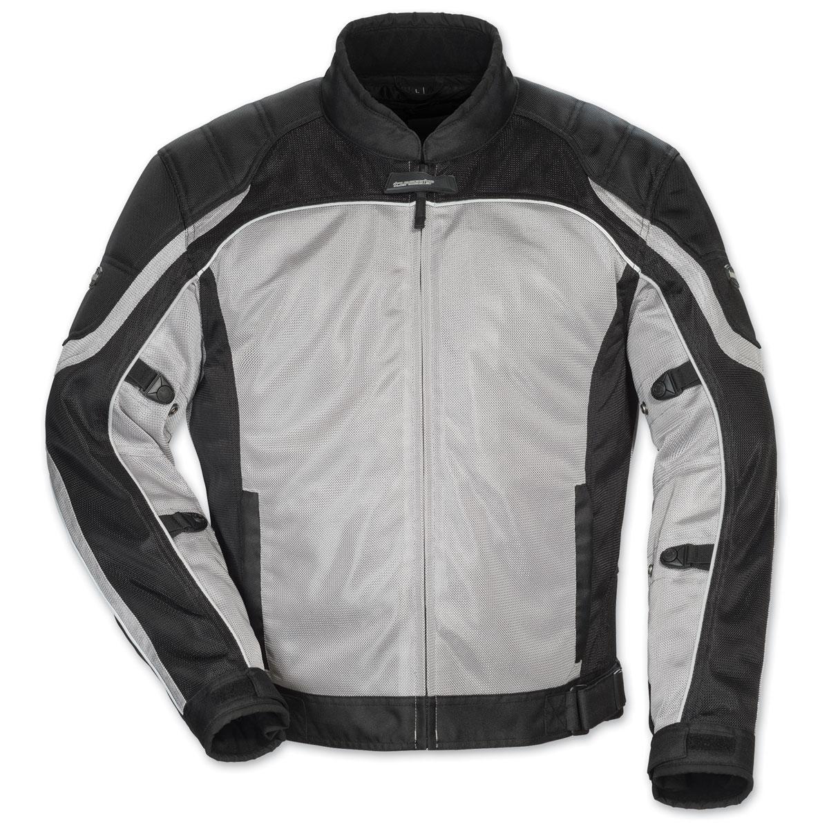 Tour Master Men's Intake Air 4 Silver/Black Jacket