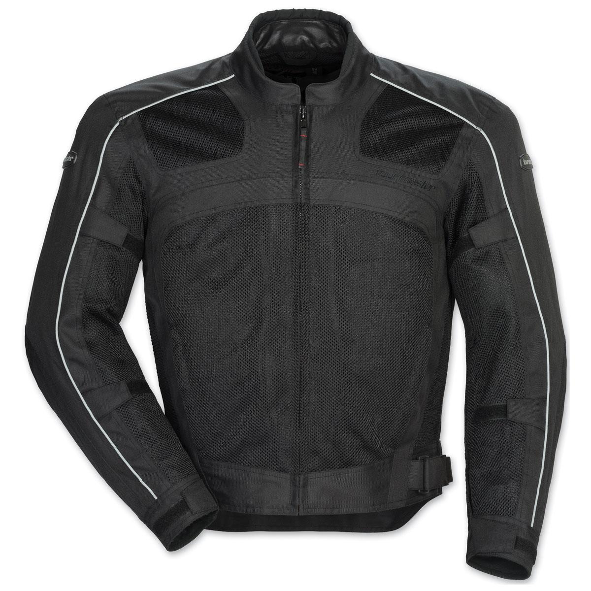 Tour Master Men's  Draft Air 3 Black Jacket