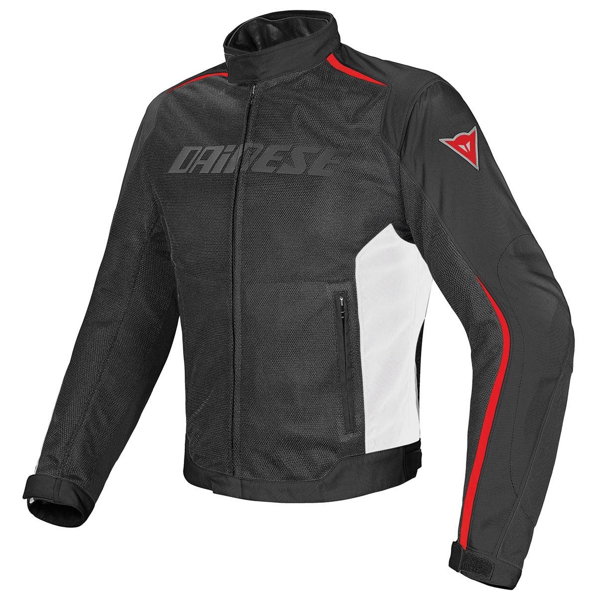 Dainese Men's Hydra Flux D-Dry Black/White/Red Jacket