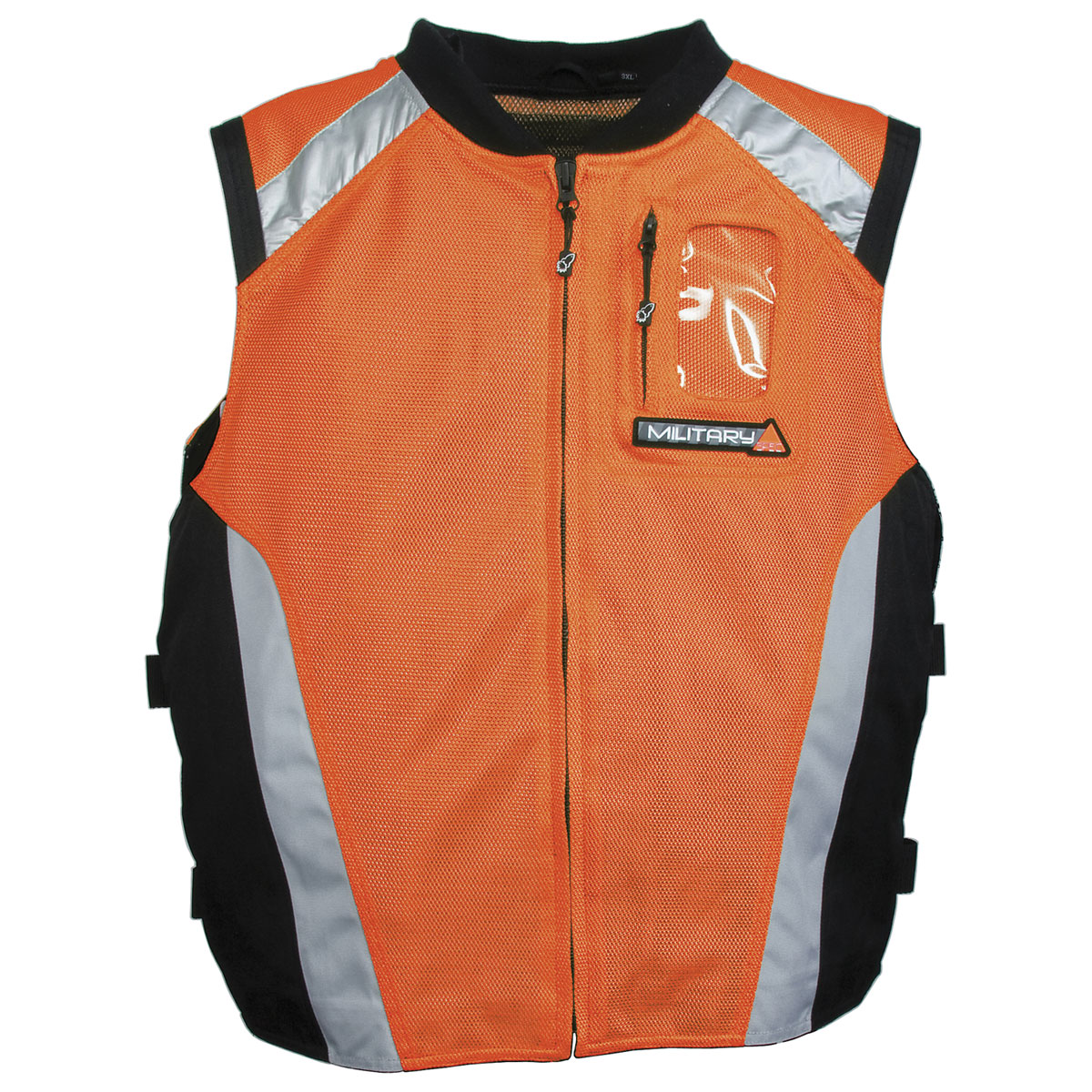 Joe Rocket Men's Military Spec Orange Mesh Vest