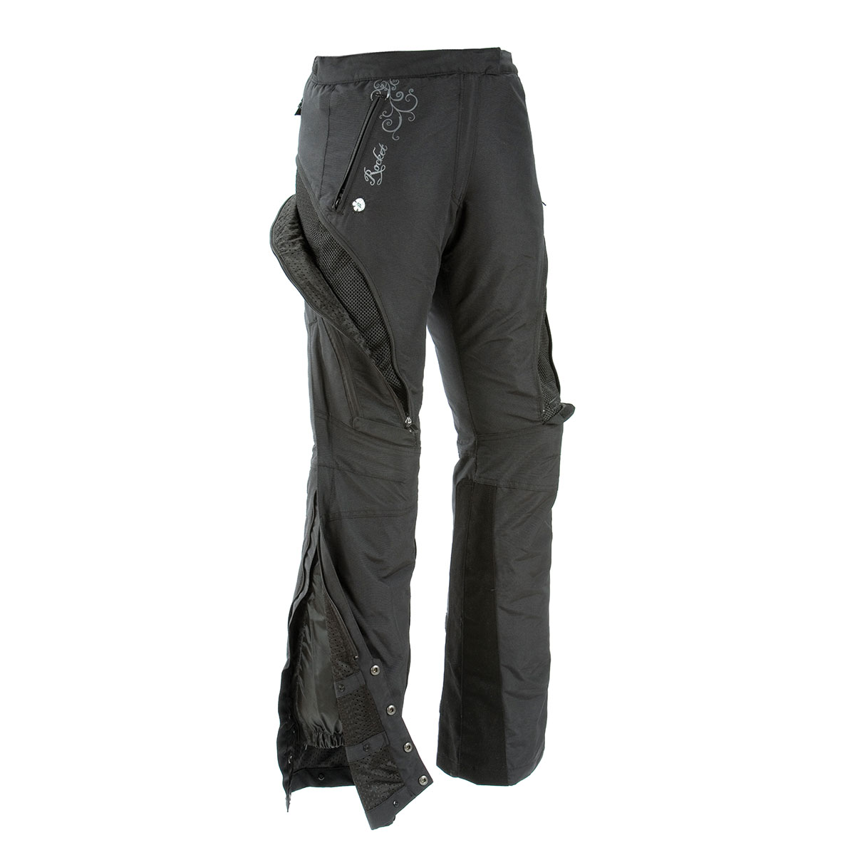 Joe Rocket Women's Alter Ego Black Pants
