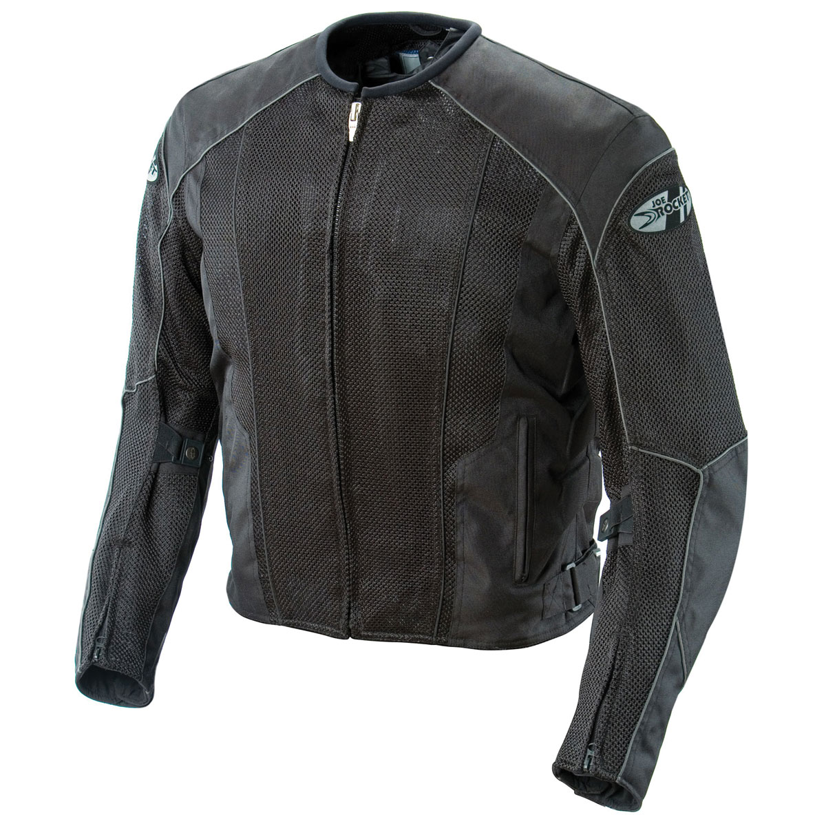 Joe Rocket Men's Phoenix 5.0 Black Mesh Jacket