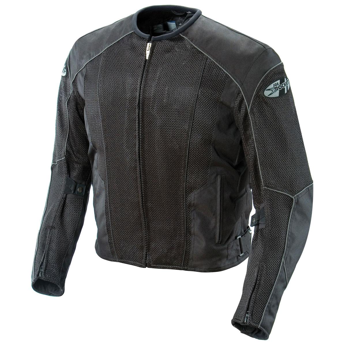 Joe Rocket Men's Phoenix 5.0 Black Mesh Jacket