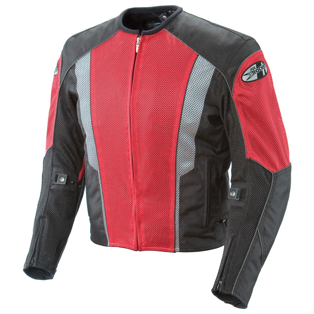 Joe Rocket Men's Phoenix 5.0 Red/Black Mesh Jacket