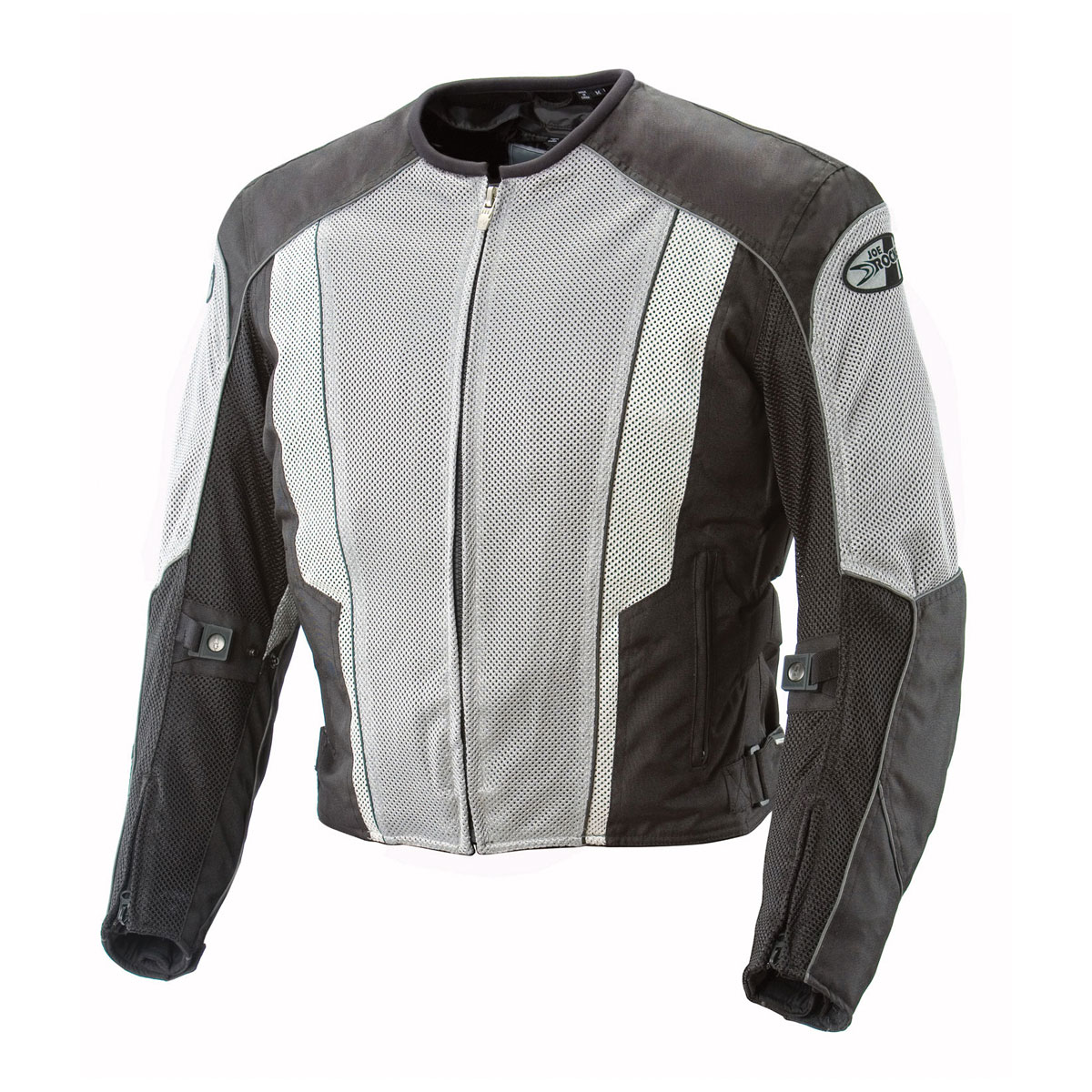 Joe Rocket Men's Phoenix 5.0 Gray/Black Mesh Jacket