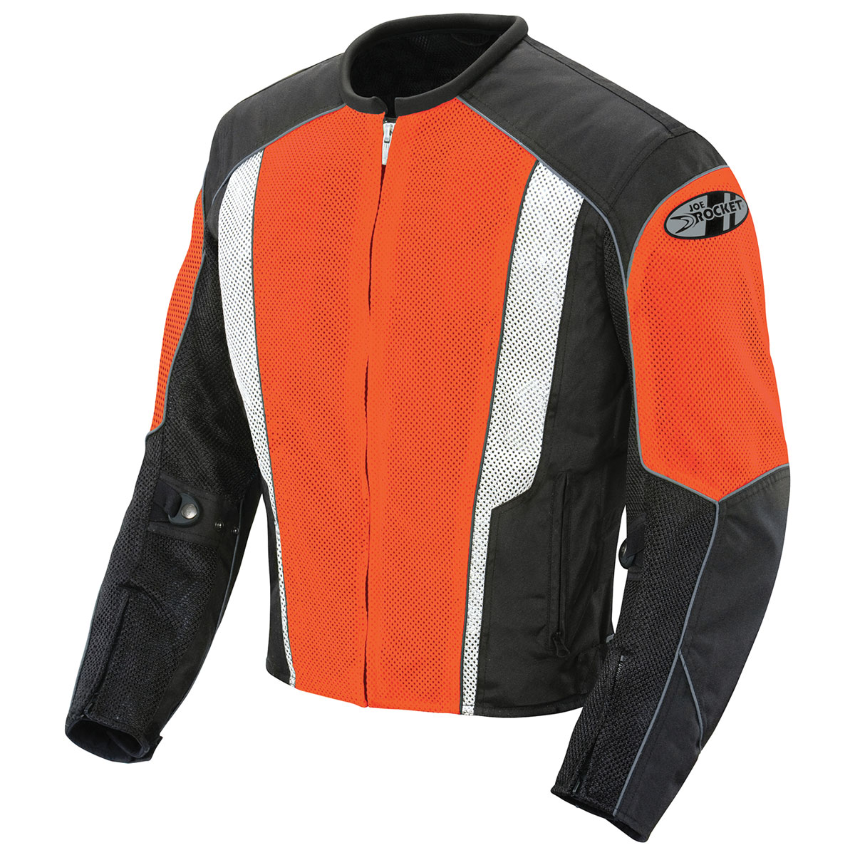 Joe Rocket Men's Phoenix 5.0 Orange/Black Mesh Jacket