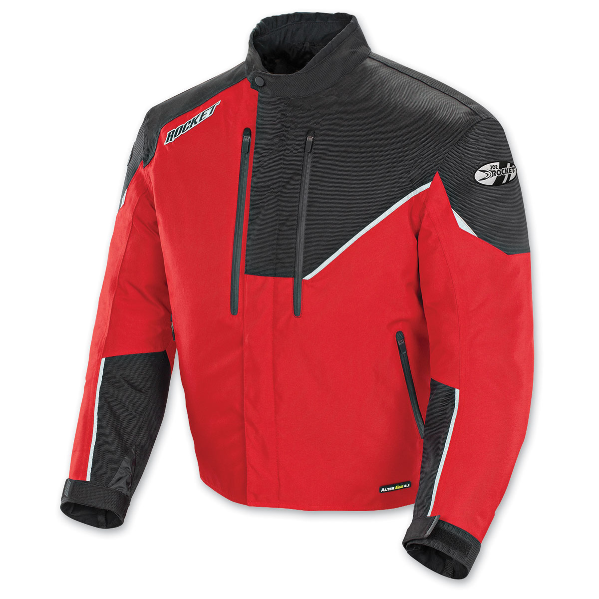 Joe Rocket Men's Alter Ego 4.1 Red/Black Jacket