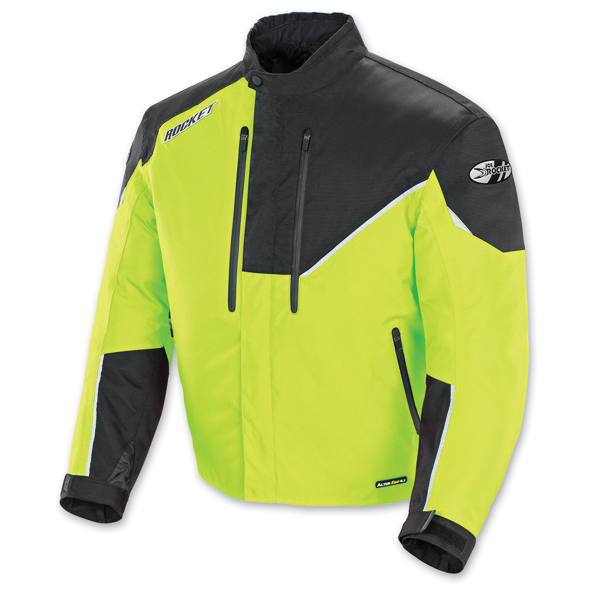 Joe Rocket Men's Alter Ego 4.1 Hi-Viz/Black Jacket