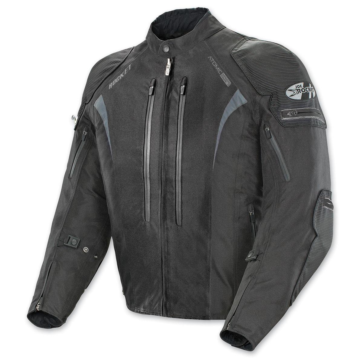 Joe Rocket Men's Atomic Ion Black Jacket