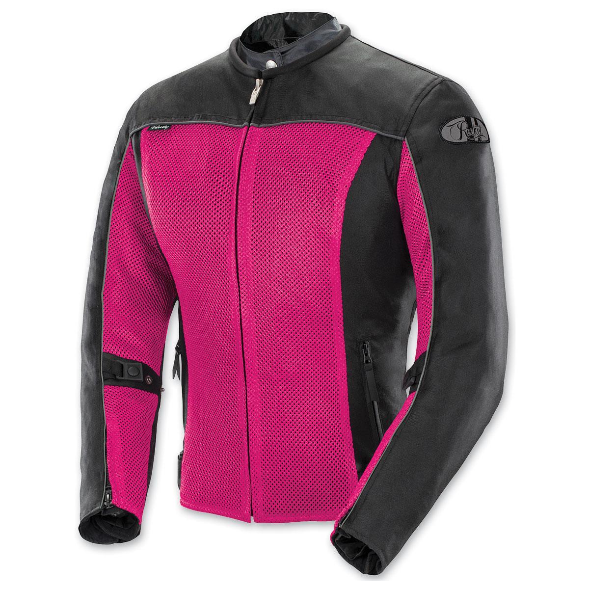 Joe Rocket Women's Velocity Mesh Pink/Black Jacket
