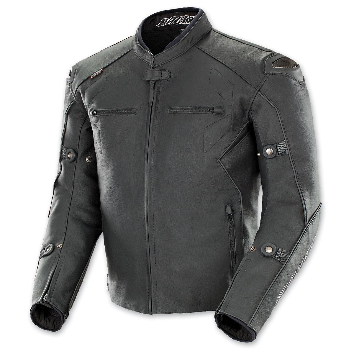 Joe Rocket Men's Hyperdrive Black Leather Jacket