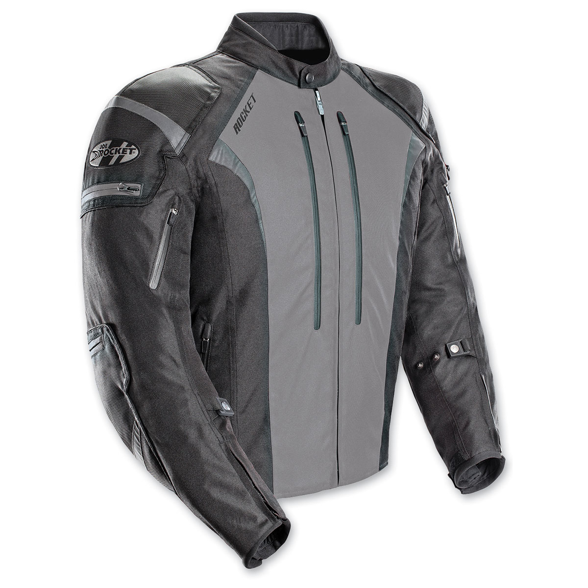 Joe Rocket Men's Atomic 5.0 Gray Jacket