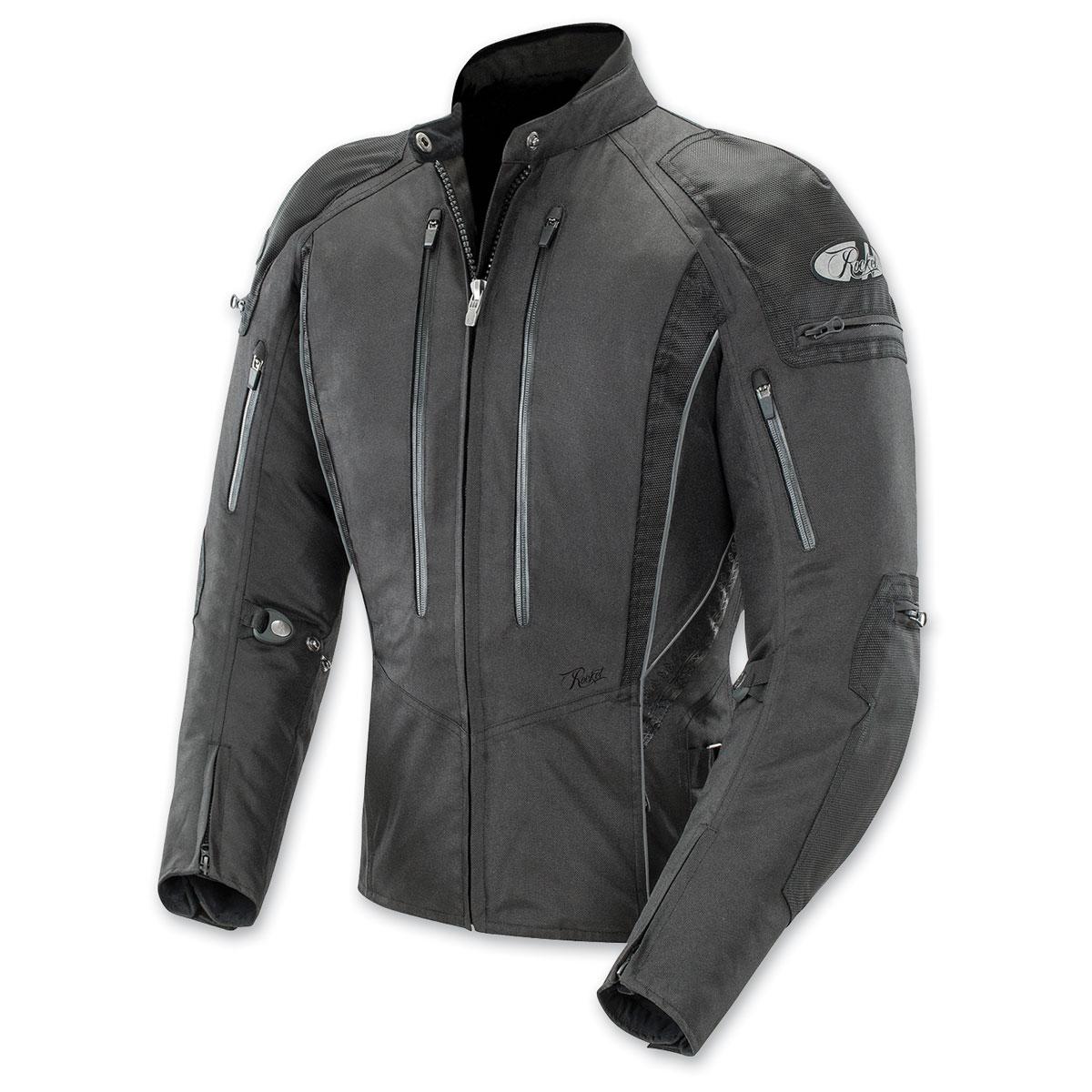 Joe Rocket Women's Atomic 5.0 Black Jacket