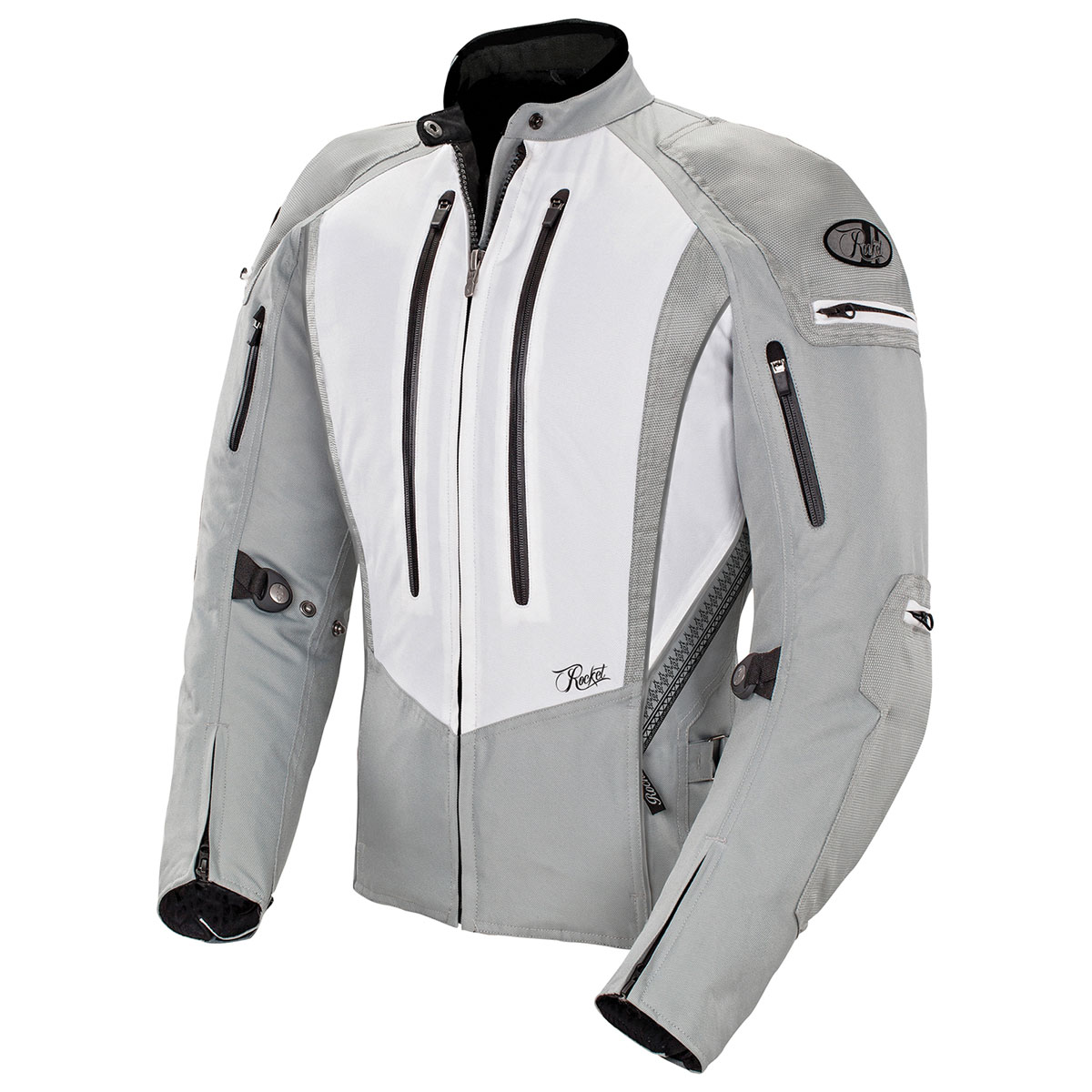 Joe Rocket Women's Atomic 5.0 White/Silver Jacket
